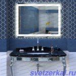 Зеркало со светодиодной подсветкой AZA