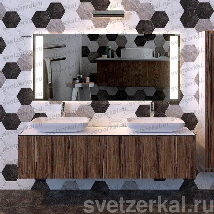 Светодиодное зеркало в ванную