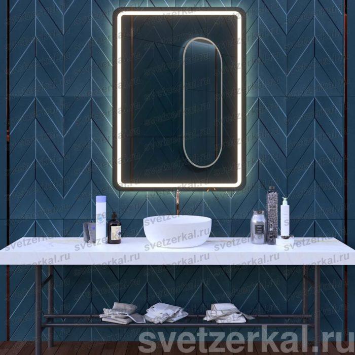 Зеркало со светодиодной подсветкой для ванной комнаты galla
