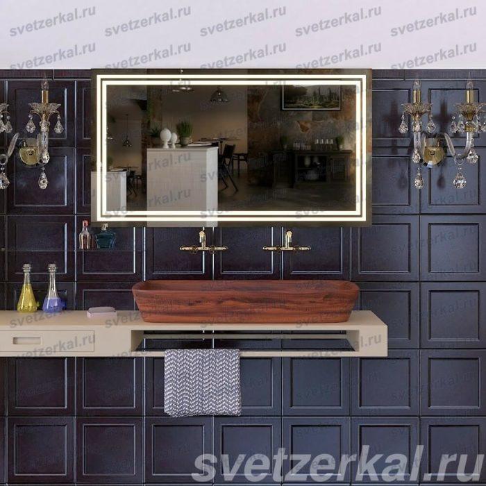 Зеркало в ванную комнату с обогревом
