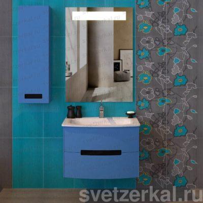 Зеркало со светодиодной подсветкой для ванной