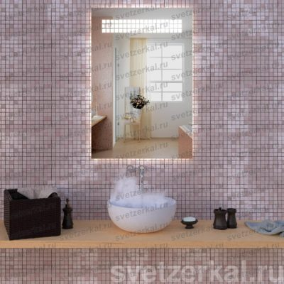 Зеркало со встроенной подсветкой quadrate