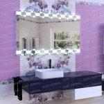 зеркало с подсветкой в комнату