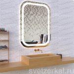 Зеркало с подсветкой для ванной комнаты adele