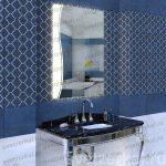 зеркало с подсветкой и сенсером
