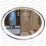 Купить недорого Овальное зеркало на заказ с подсветкой Москва