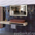 Зеркало в ванную комнату с обогревом Москва