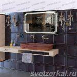 Зеркала в ванную на заказ Москва