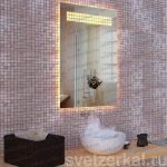Зеркало с внутренней подсветкой quadrate