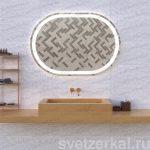 Зеркало со внутренней подсветкой для ванной комнаты Rima