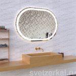 Зеркало со светодиодной подсветкой в ванную Rima