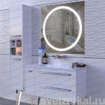 Зеркало с led подсветкой для ванной Rio