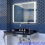 Зеркало для ванной с led подсветкой купить в Москве