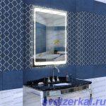 Зеркало для ванной с led подсветкой купить в Москве недорого